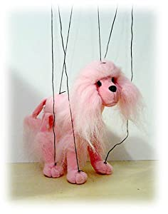"""Pink Poodle 18"""" Marionette from Sunny & Co Toys"""
