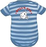 KLEINER FRATZ - Body - Manga corta - para bebé niño Azul Slateblue/Dustyblue