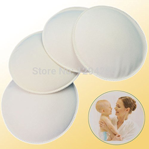 4 Pcs Hot Galactorrhea Washable Nursing Breast Pads,Spill Prevention Breast Pad For Mommy Breast Feeding-As The Pic