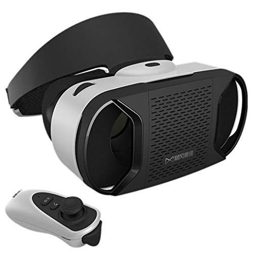 2016 New Release VR Headset, AutumnFall® Virtual Reality 3D Movies Games Glasses Google Cardboard Upgraded Version for 4.7 to 6.0 inch Android Samsung Galaxy Note, IOS iPhone 6 6s Plus