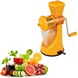 Saffron Fruit & Vegetable Juicer Mixer Grinder With Steel Handle, Orange - By A To Z Sales-AZ5012