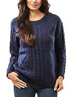 ETOILE DU CACHEMIRE Jersey Y812 (Azul)