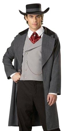 Mens Southern Gentleman Wild West Halloween Costume
