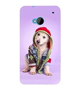 Fuson Premium Printed Hard Plastic Back Case Cover for HTC One M7