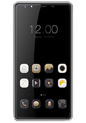 Kimfly Master M3 Android 5.1 Lollipop 5 inch IPS Display 512 MB RAM and 8 GB Internal Memory Dual SIM GSM and WCDMA 3G Smart Wake Up Dual Camera with Dual Flash Light (Grey)