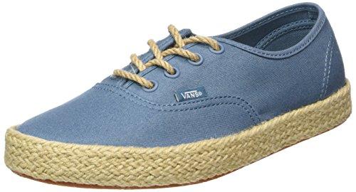 Vans Authentic Espadrille - Scarpe da Ginnastica Basse Unisex - Adulto, Blu (canvas/aegean Blue), 35 EU