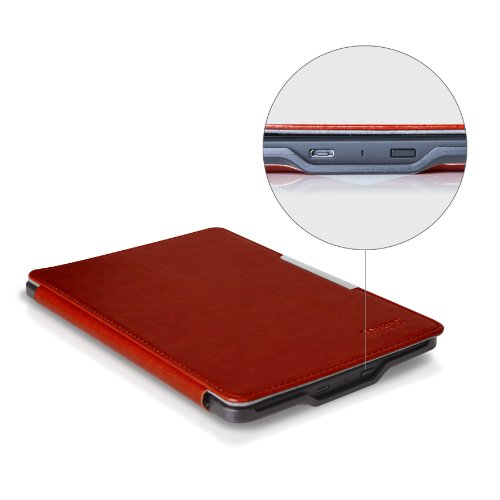 Anker Kindle Paperwhite PUレザーケース 軽量・シンプルなデザイン