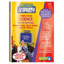 Middle School: Science Basics, Space Science, And Life Science (Pre-Programmed Classroom Jeopardy Cartridge)