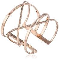 Paige Novick Criss Cross Pave Cuff Bracelet by Paige Novick
