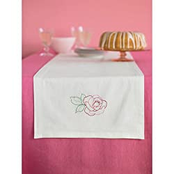 Martha Stewart Crafts Table Runner, Flowers