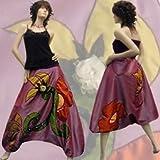 B02 Baggy Pantalon Sarouel - Robe Bustier - Jupe Boule Créateur 34/36/38/40/42/44/46/
