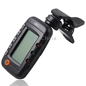 Acoustic Guitar Digital Tuner / Metronome with LCD available at Amazon for Rs.3257
