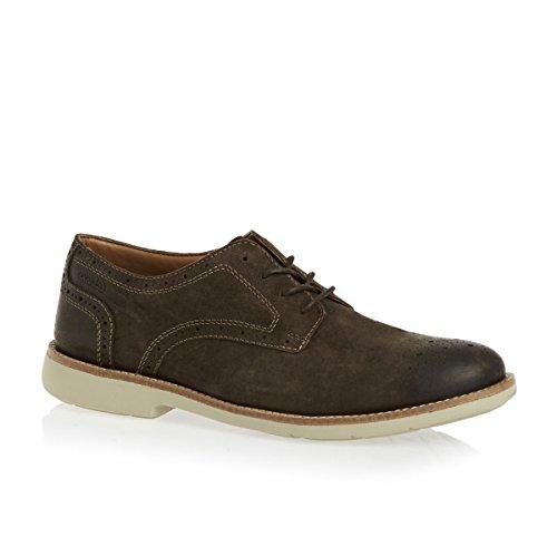 Chaussures Raspin Walk Clarks - Marron Suede