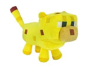 1 X Genuine Minecraft Ocelot plush 7 inch, soft toy, baby animal