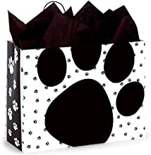 Pooch39s Paws Cub Paper Shopper Gift Bag - Pack of 10