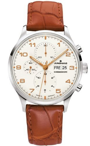 Junghans 027/4751.00 - Reloj automático beige
