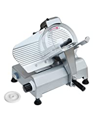 Commercial Food Slicer 10 Blade Meat Cheese Deli 110V 530RPM CE Approved NEW by Yescom USA