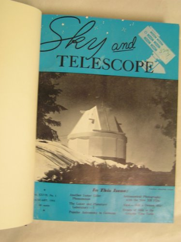 Sky And Telescope Magazine, 1963 12 Issue Set (Hardbound)