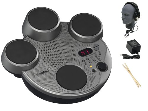Yamaha YDD40 Portable Digital Electronic Drums Premium Pack with Headphones and Power Supply