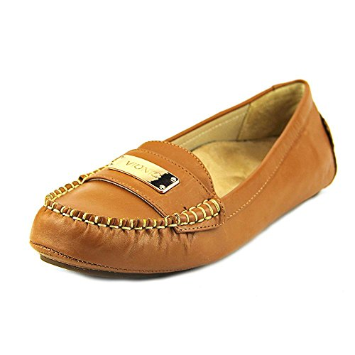 Vionic Sydney Womens Leather Loafers Tan - 7.5