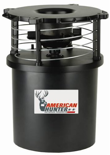 American Hunter Feeder Kit with Analog Clock Timer and Varmint Guard