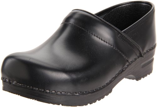 Sanita Women's Professional Cabrio Clog,Black,37 EU/6.5-7 M US