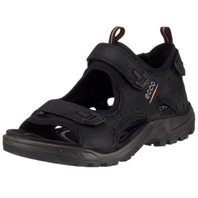 ECCO Men's Offroad Tarmac Sandals, Black, 6.5- 7 UK (EU : 40)