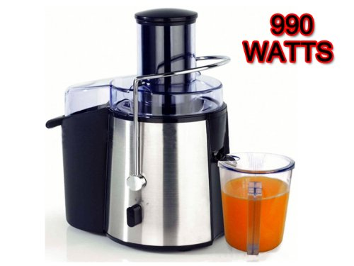 SALE PRICE ELECTRIC POWERFUL PROFESSIONAL WHOLE FRUIT VEGETABLE JUICER JUICE EXTRACTOR *APPROVED BY BBC FUSION FOODCARE*