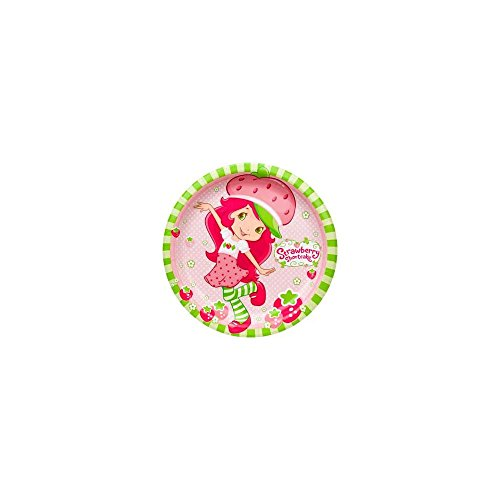 Strawberry Shortcake 9 Inch Dinner Plates 8/pkg - 1