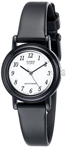 Casio Women's LQ139B-1B Classic Round Analog Watch (Round Dial Analog Watch compare prices)
