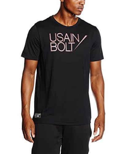 Puma T-Shirt Manica Corta Ub Logo  [Nero]