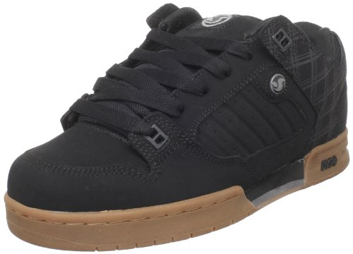 DVS Men's Militia Skate Shoe,Black/Gum,11 M US