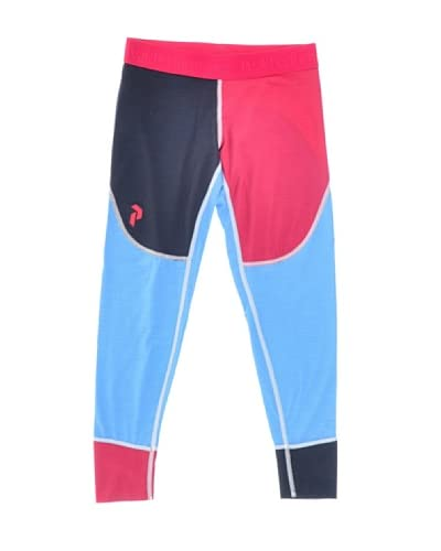 Peak Performance Leggings Multi Lj Jr [Turchese/Fucsia]