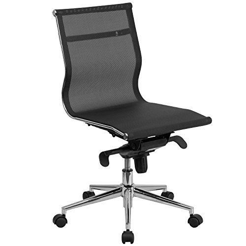 mid-back-armless-black-mesh-executive-swivel-office-chair-with-synchro-tilt-mechanism