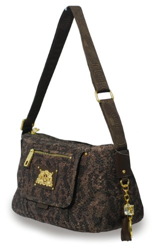 Juicy Couture Juicy Couture Karen Hobo Neutral Snake