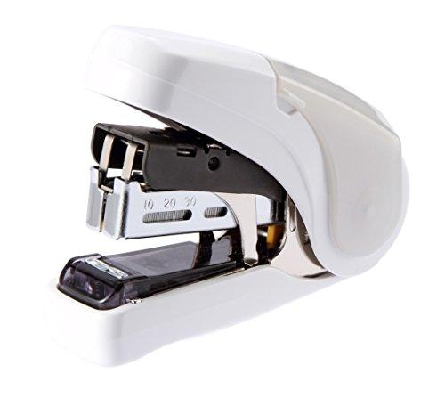 マックス ホッチキス サクリフラット 28枚とじ ホワイト 紙箱 HD-10FL2/W