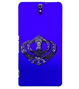 D KAUR Sikh Symbol Back Case Cover for Sony Xperia C5::Sony Xperia C5