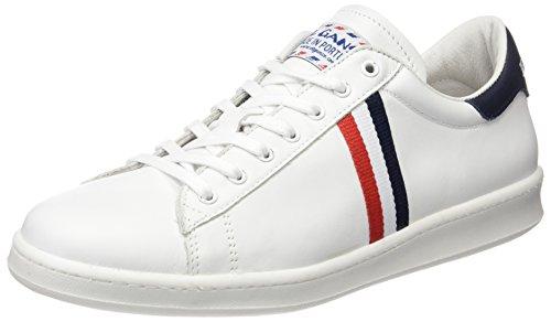 El Ganso Unisex - Adulto Low Top Blanca Bandera Francia scarpe sportive bianco Size: 39