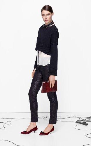 Lace Print Jean