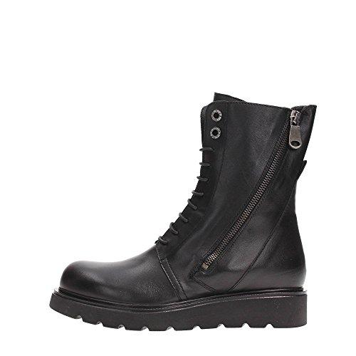Tosca Blu Shoes SF1613S247 Tronchetto Donna Ecopelle NERO NERO 39