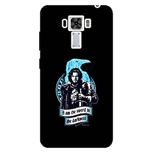 I Am The Sword In The Darkness - Mobile Back Case Cover For Asus Zenfone 3 Laser (ZC551KL)
