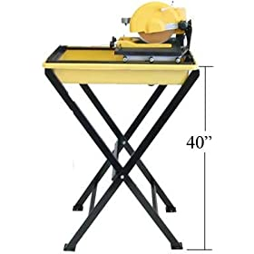7'' LASER Wet Tile Marble Granite Saw Cutter Direct Drive