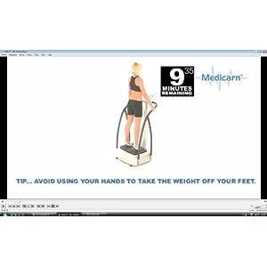 Medicarn Vibration Plate Workout DVD