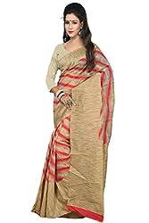 Sanju Dashing Red Art Silk Traditional Wear Saree for Women