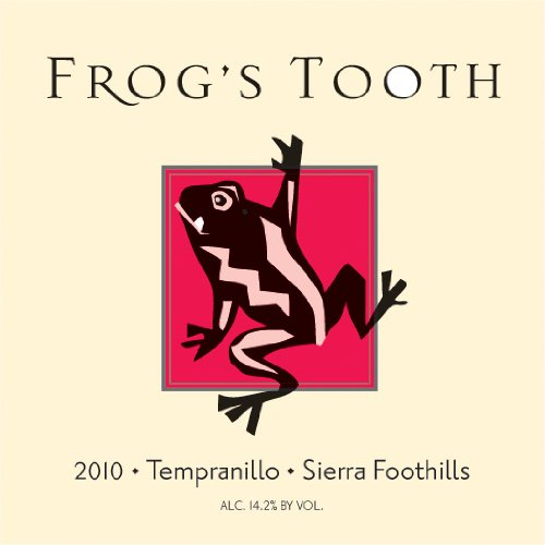 2010 Frog'S Tooth Sierra Foothills Tempranillo 750 Ml