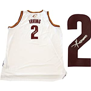 Kyrie Irving Autographed Cleveland Cavaliers Jersey by Hollywood Collectibles