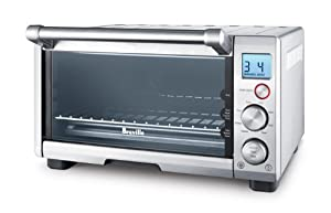 Breville BOV650XL Compact Smart Oven 1800-Watt Toaster Oven with Element IQ