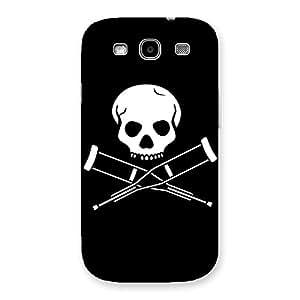 Impressive Danger Black Back Case Cover for Galaxy S3