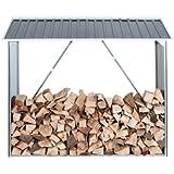 Tepro 7157 Abri pour bois de chauffage Wood Shed Anthracite