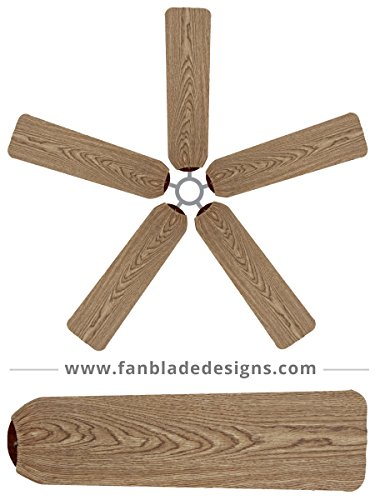 Ceiling Fan Blade Covers, Wood